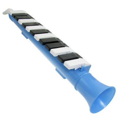 Blue 13 Keys Note Melodica Mouth Organ Portable WInd Piano K3W3