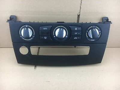 BMW 5 Series E60 E61 LCI Climate Control Panel Air Con AC 6976361