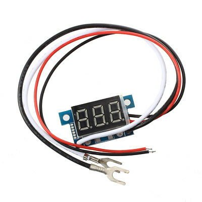 Mini Digital Ammeter Power Display Panel Meter 0-100A Blue LED F6G4