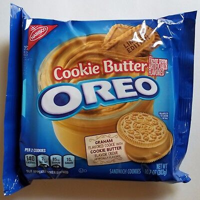 NEW Nabisco Oreo Cookie Butter Limited Edition Cookies FREE WORLDWIDE SHIPPING