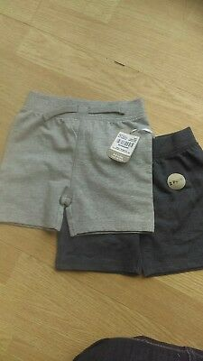 boys shorts 2 pack 6-9 months