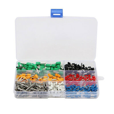 Insulated Cord End Terminal Wire Awg Ferrules 600Pcs Kit Set J0M0