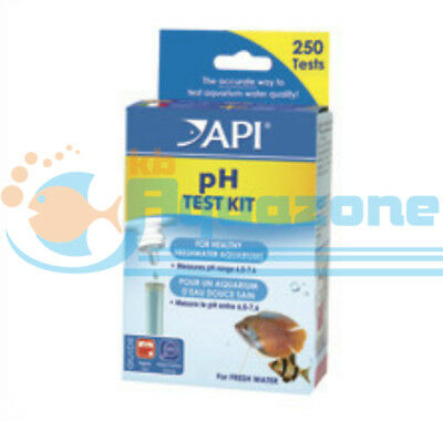 *api* Ph Test Kit For Healthy Freshwater Aquariums 250 Tests