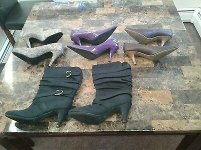 lot of womens, 4 pair shoes size 10