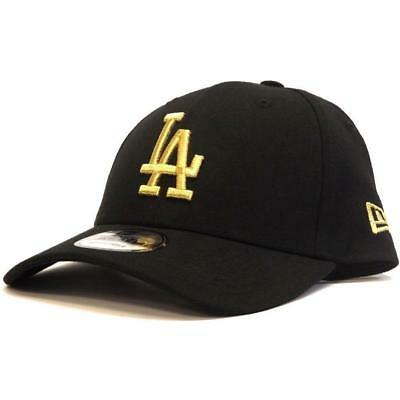 New New Era 940 Snapback LA Dodgers - Black / Metallic Gold