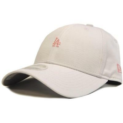 New New Era Womens 940 Mini Logo Strapback LA Dodgers - White / Pink