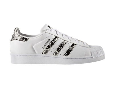 adidas Superstar Pattern Womens - White / Black