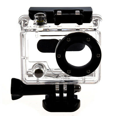 Waterproof Dive Housing Case Skeleton With Lens For  Hero 2 Camera S6W7