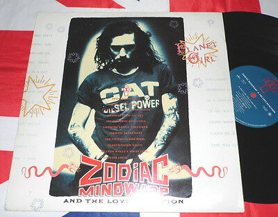 "Zodiac Mindwarp And The Love Reaction Planet Girl - Single 12"" & 1988 Uk n lp"