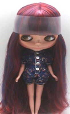 NEO BLYTHE multicolor SCALP, Red & Blue (MELENA PELUCA CUSTOM). BRAND NEW!