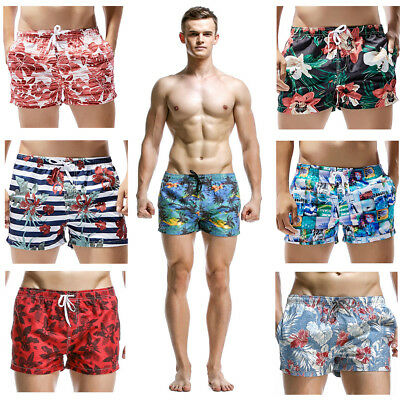 Mens Boys Swimming Board Shorts Swim Trunks Beach Holiday Summer Sports Pants