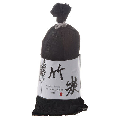 New black Wine Bag Bamboo Charcoal Activated Carbon Air Freshener for Car A W5R1