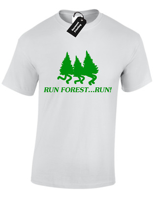 bd0ca0b79d2 Run Forest Run Mens T Shirt Funny Design Gump Classic Retro Film Top S - 5Xl