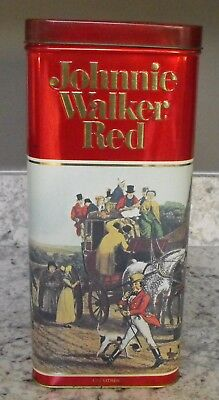 Johnny Walker Red Vintage 1983 Collector Tin 1.75 Litres