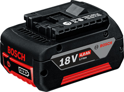 Bosch Genuine UK Lithium-Ion 4.0ah Battery 4amp fits 18v Tools UK STOCK Li-Ion