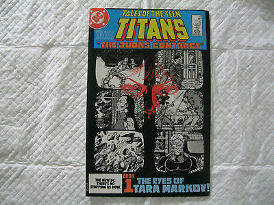 Tales of the Teen Titans #42 VF OW/W (1984)