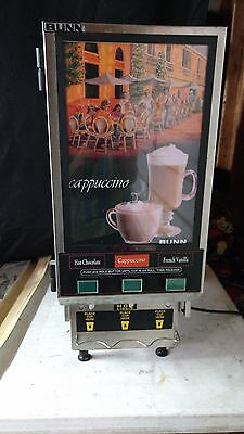 Bunn HC-3 cappuccino machine slightly used condition.