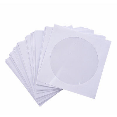 50 x 5 inch CD DVD pockets flap cover envelopes T2S7