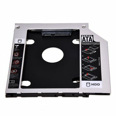 SATA 2nd Hard Disk Drive HDD Caddy Adapter for Tad T400 T410 T500 R400 R500 I6U4