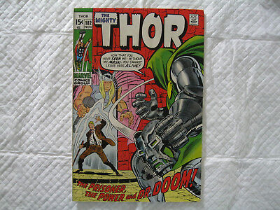 The Mighty Thor #182 VF+ OW (1970)