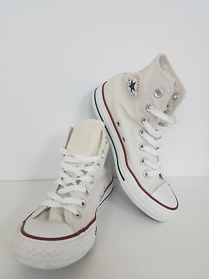 Converse Chuck Taylor All Star High Top Shoe Sneaker Unisex Canvas White