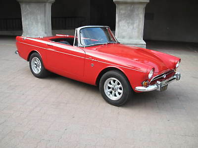 1965 Sunbeam Tiger  Original California car. Just 3 owners since new. Excellent condition.
