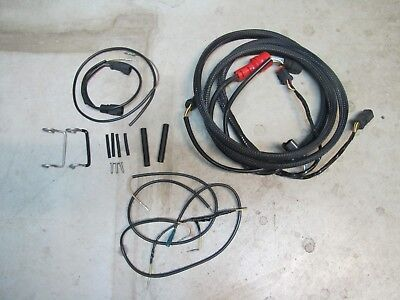 OMC JOHNSON EVINRUDE Engine Wire Wiring Harness From 176346 ... on
