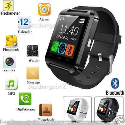 Bluetooth Smart Wrist Watch Mate For Android Phone iOS iPhone HTC Samsung etc..
