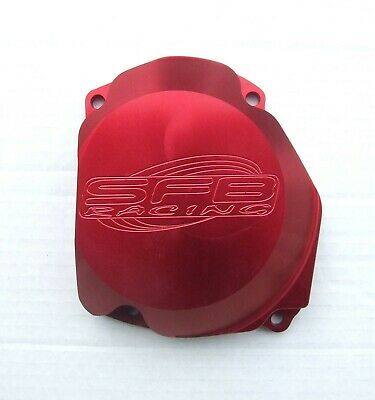 Suzuki RM 125 ( 1998-2012 ) SFB Racing Billet Alloy Ignition Flywheel Cover RED