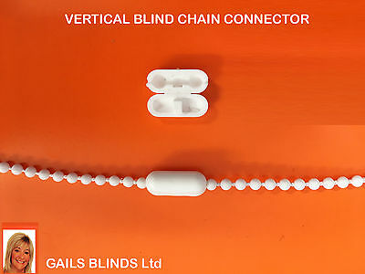 4 Roller/Vertical blind chain connector cord joiner
