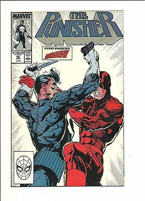 Punisher #10 & Daredevil #257 2-issue crossover battle 1988 high grade nm-/nm