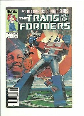 Transformers #1 1st series 1984 Marvel very good 4.0 $1 start!