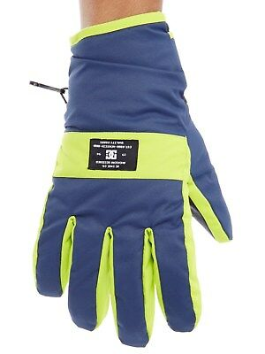 DC Insignia Blue Franchise Snowboarding Gloves