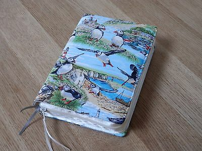 New World Translation 2013 Zipped Fabric Bible Cover - Puffins