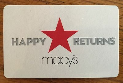 Macy's Gift Card for $23.85