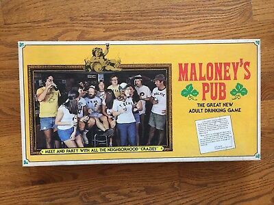 Maloney's Pub The Great New Adult Drinking Game