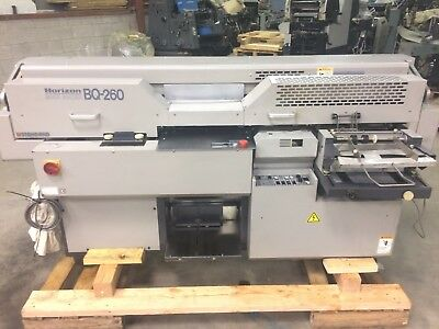 Printing press  Horizon BQ 260 Perfect Binder