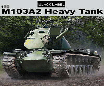 Dragon Models 3549 1/35 M103A2 Heavy Tank - Black Label Series