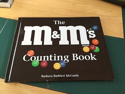 M&M brown book the counting book numbers1 through 12 six colors shapes new