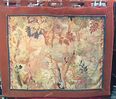 Gorgeous Antique French Tapestry While Hunting Rug