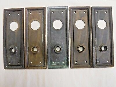 Solid Brass Door Plates by Chelsea