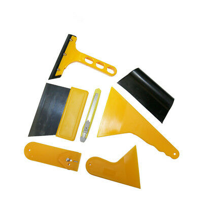Professional 7 in 1 Car Window Film Tools Squeegee Scraper Set Kit Car Home Tint