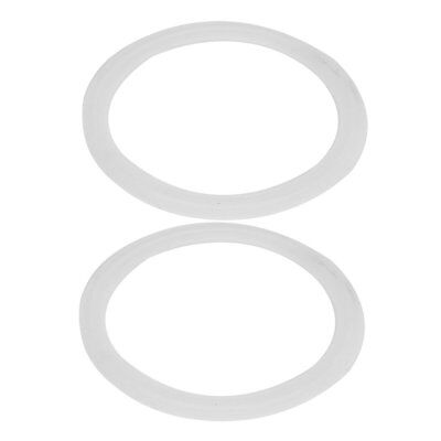 102mm Silicone Gasket 2pcs for 4-inch Tri Clamp Sanitary Pipe Ferrules C7V6
