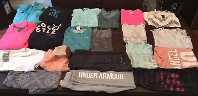 Womens Teens Juniors Clothing Size Small Lot Of 20 Pieces Pink Aeropostle Rue 21