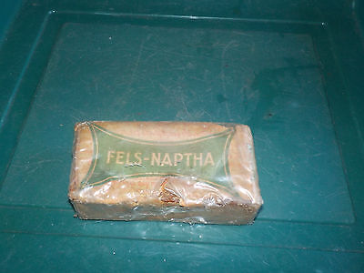 Fels-Naptha Bar Of Soap Unopened Has Hole In Packaging Vintage