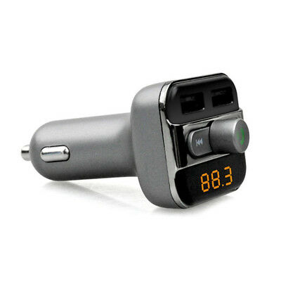 BT20 Bluetooth Hands free Car Kit with FM transmitter & Car Charger Outputs V4Y0
