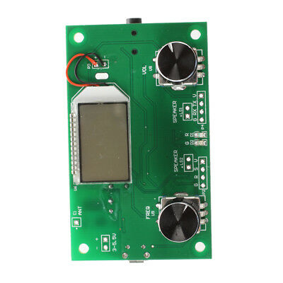 DSP & PLL Digital Stereo FM Radio Receiver Module 87-108MHz with Serial Con N7D0