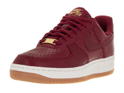 Nike Women's Air Force 1 '07 Noble Red/Noble Red Basketball Shoe 12 Women Us