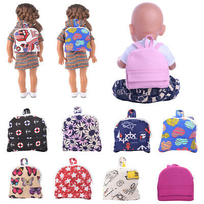New Doll's Schoolbag Backpack Accessories for 18 inch American Girl Doll