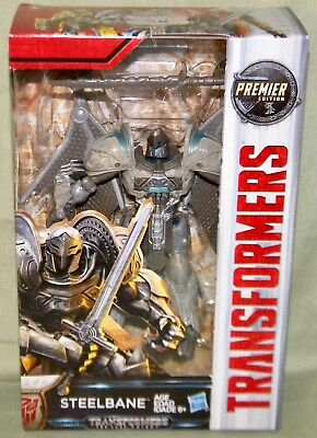 STEELBANE Transformers The Last Knight Movie Deluxe Class Premier Edition 2017